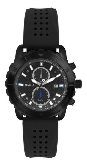 Relógio Touch Unissex Carbo Preto Twos11aa/8p