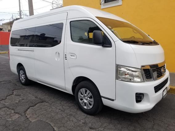 Nissan Urvan Nv 350 Amplia Lujo 15 Pasajeros 2016