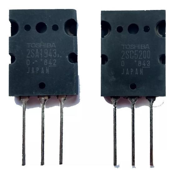 Kit 10 Unidades Transistor 2sc5200 2sa1943 C5200 Original