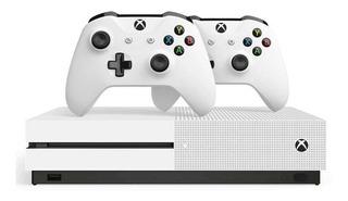 Xbox One S, 1tb, Wi-fi, 4k Ultra Hd + 2 Controles