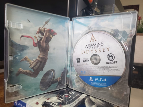 Steelbook Assassin's Creed Odyssey Ps4