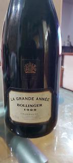 Champagne Bollinger La Grande Anne 1999,unica!