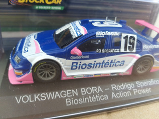 Miniatura Vw Bora Stock Car 1/43 Brasil Biosintética