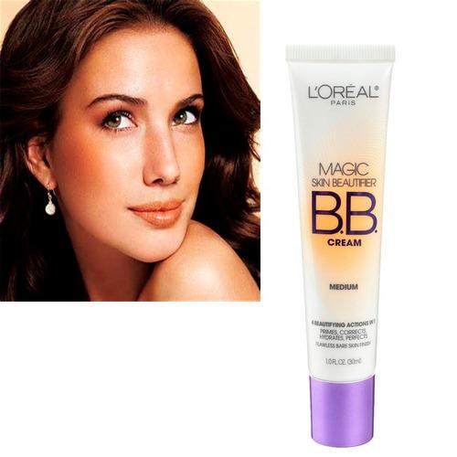 Bb Cream Loreal Paris Magic Skin Corrige Hidrata Tono Medium