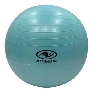 Balón Pilates Terapia Yoga Pelota Gimnasio 65 Cm Abdominales