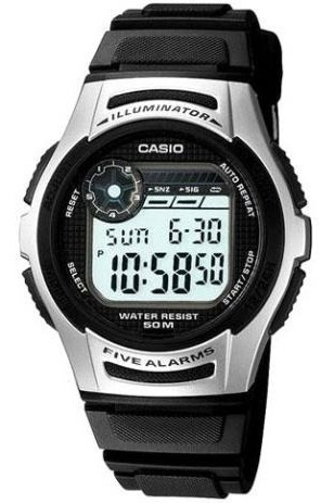 Relógio Masculino Digital Casio W213-1avdf - Novo