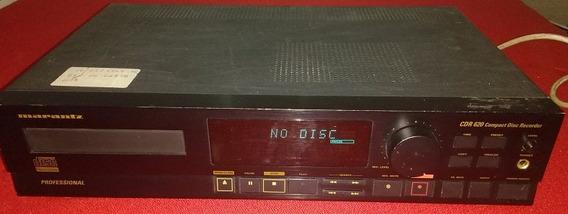 Marantz Cdr-620 Cd Record - Gravador De Cd Professional
