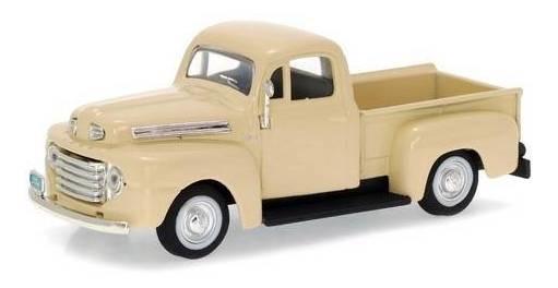 1948 Ford F-1 Pickup Creme - Escala 1:43 - Yat Ming