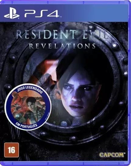 Resident Evil Revelations Ps4 Mídia Física Português Novo