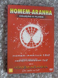 Dvd Homem Aranha - Coleção 6 Filmes - 6 Discos Box