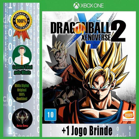 Dragon Ball Xenoverse 2 Xbox One Midia Digital +1 Jogo