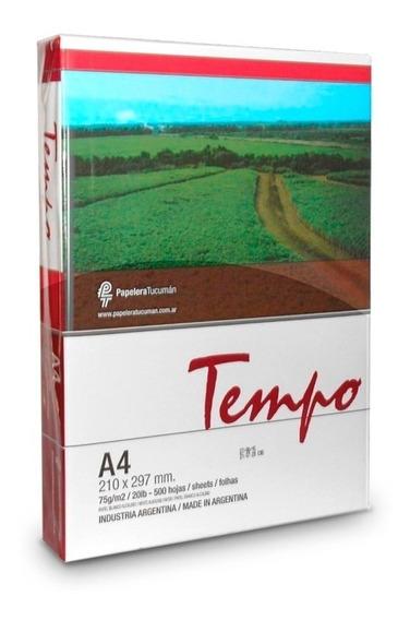 Tempo - Resma A4 75grs | Consultar Envío Sin Cargo