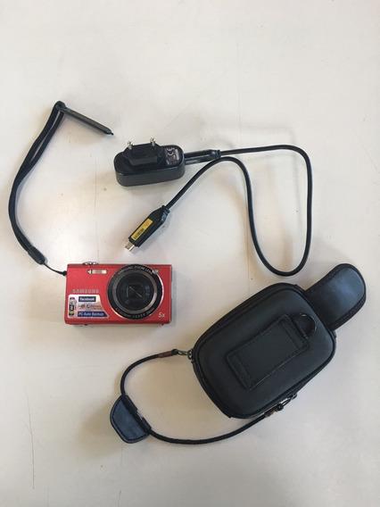 Câmera Digital Samsung - Sh100 - Sem Cartão De Memória
