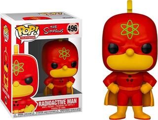 Funko Pop! The Simpsons 496 - Radioactive Man