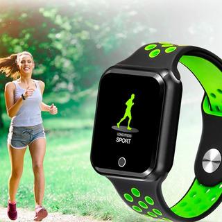Smartwatch Midi-s226 Relógio Fitness Ios Android Gps Bluetooth Pressão Arterial Calorias Ip67 Original C/ N.f + Brinde