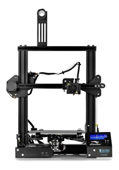 Impressora 3D Creality 3D Ender-3 110V/220V (Bivolt) Black FDM