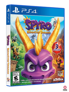 Spyro Reignited Trilogy Ps4 Disponibe