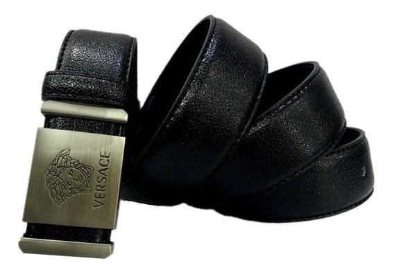 Correa Versace Hombre Talla 32 Pvc Importada 120 X 3.2cm