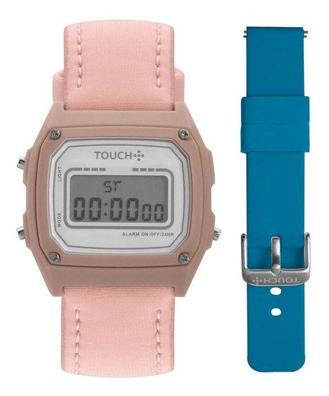 Relógio Unissex Touch Rosé - Original