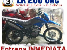 Moto Zanella Zr 200 Ohc 0km 2017