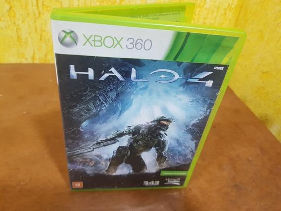 Halo 4 Usado Encartes Xbox 360 Midia Fisica