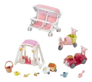3 Juegos De Coches Y Trike, Columpio De Bebé Y Doble Cocheci