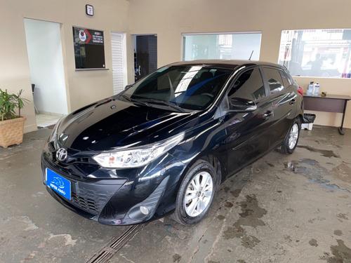 Imagem 1 de 7 de Toyota Yaris Xl Plus 1.3 Preto 2019