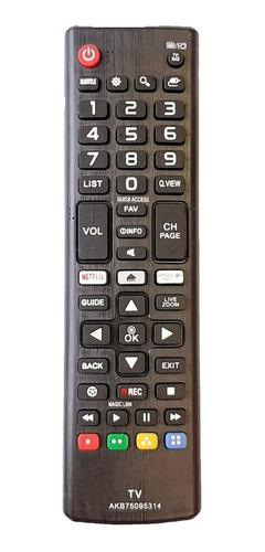 Imagen 1 de 5 de Control Remoto Tv LG Smart Netflix + Forro + Pilas