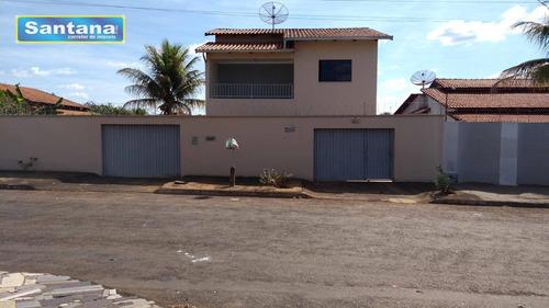 Casa Com 3 Dormitórios À Venda, 171 M² Por R$ 450.000,00 - Caldas Do Oeste - Caldas Novas/go - Ca0157