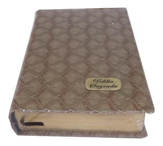 Bíblia Sagrada Sbb Letra Grande Luxo Revista Atualizada