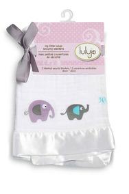 Paquete 2 Mantitas De Seguridad - Elefantes Lulujo