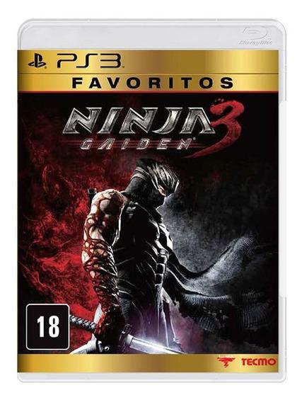 Ninja Gaiden 3 - Favoritos Ps3 - Frete Grátis