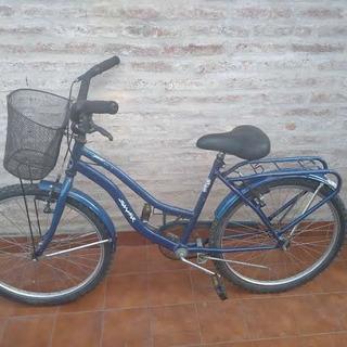 Bicicleta Playera Rodado 24 Mujer