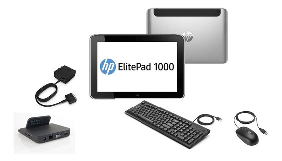 Tablet Hp Elitepad 1000 G2-10.1 64 Gb 4gb + Dock Seminovo!