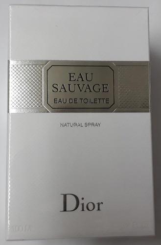 Perfume Eau Savage  Dior X 100 Ml Original