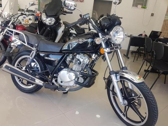 Suzuki Intruder 125 2016 Preta 44000 Km