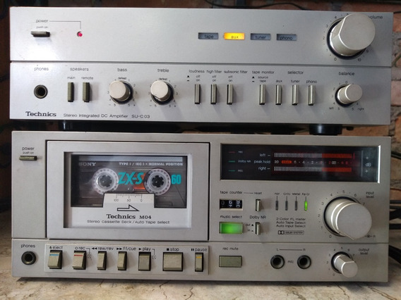 Amplificador Tape Deck Technics Rs-m04
