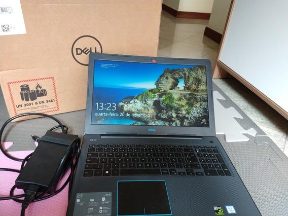 Notebook Gamer Dell G3 I5 16gb 1050ti 4gb 1tb Hd 256 Ssd