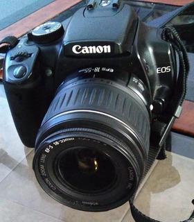 Camara Profesional Canon Eos Rebel Xti Objetivo 18-55mm