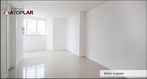 Apartamento Com 2 Suítes À Venda, 72 M² Por R$ 668.000 - Centro - Itajaí/sc - Ap1726
