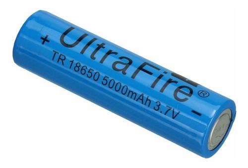Imagen 1 de 8 de 1 Pila Bateria Recargable 18650 Ultrafire 5000mah 3.7v
