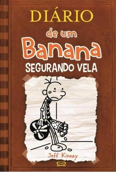 Segurando Vela Livro Capa Dura Diário Um Banana 7 Frete 14
