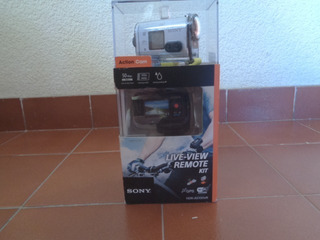 Camara Sony Hdr-as100vr Action Video With Live View Remo