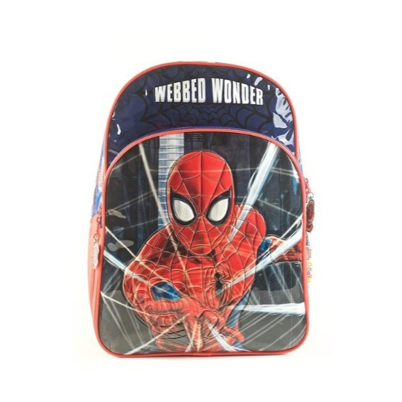 Mochila Spiderman 16p Espalda Mmk 62302