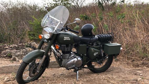 Motocicleta Royal Enfield, Classica Battle Green