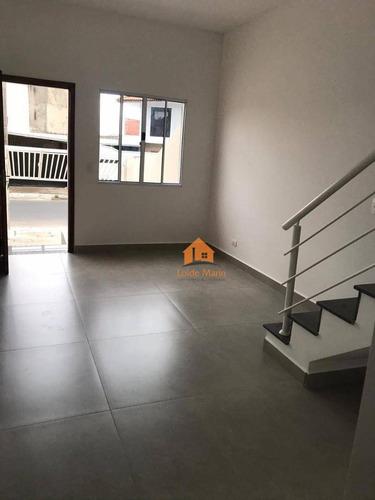 Sobrado Com 2 Dormitórios À Venda, 65 M² Por R$ 189.900,00 - Jardim Santa Catarina - Sorocaba/sp - So1606