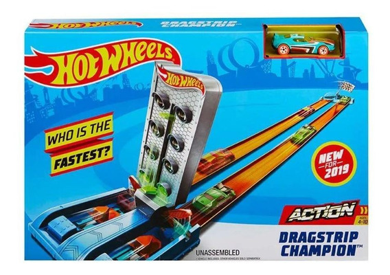 Pista De Campeonato Rapid Raceway Champion Hot Wheels-mattel