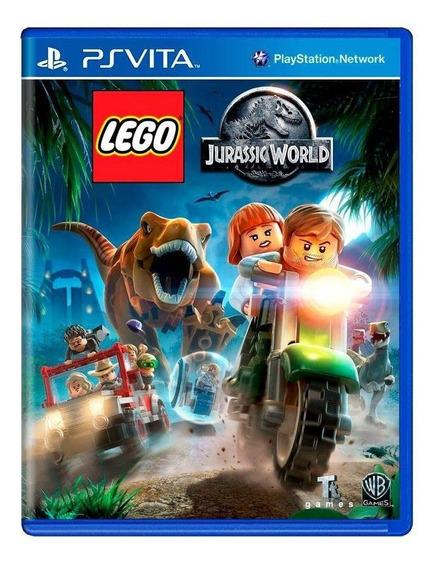 Lego Jurassic World Ps Vita Mídia Física Pronta Entrega