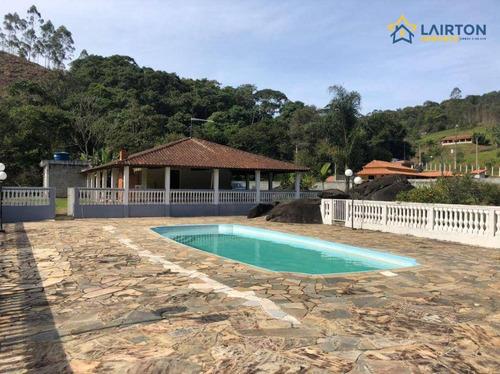 Imagem 1 de 18 de Sítio Com 3 Dormitórios À Venda, 20000 M² Por R$ 700.000,00 - Moinho - Nazaré Paulista/sp - Si0319