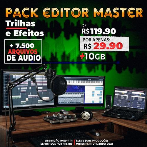 Imagem 1 de 1 de Trilhas E Efeitos -pack Editor Master